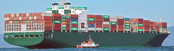 морские перевозки грузов - морские Контейнерные перевозки грузов