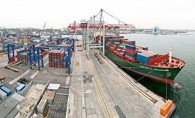 Мариупольский порт морской торговый порт