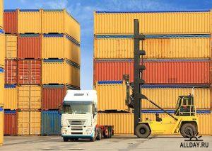 перевозка контейнерами, перевезення контейнерами