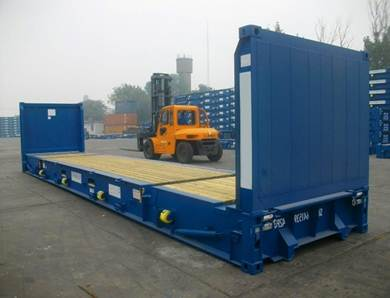 20-ти футовый Flatrack контейнер