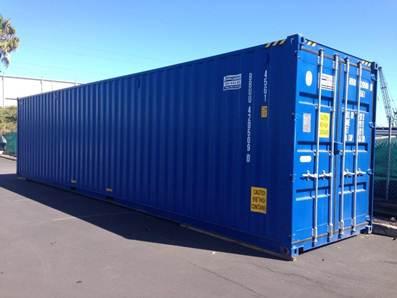 """40-ка футовый """"high cube"""" контейнер (увеличенной вместимости)"""