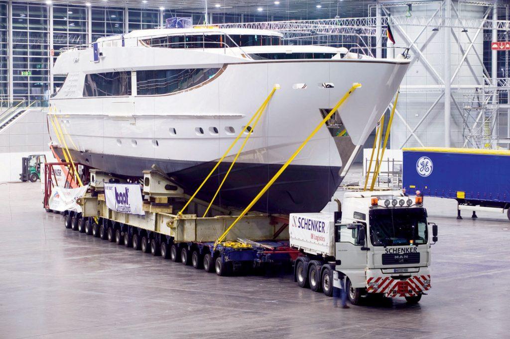 Международная перевозка яхт и катеров