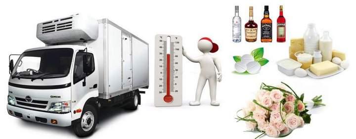 перевозки скоропортящихся продуктовре