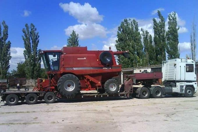 Доставка сельскохозяйственной техники