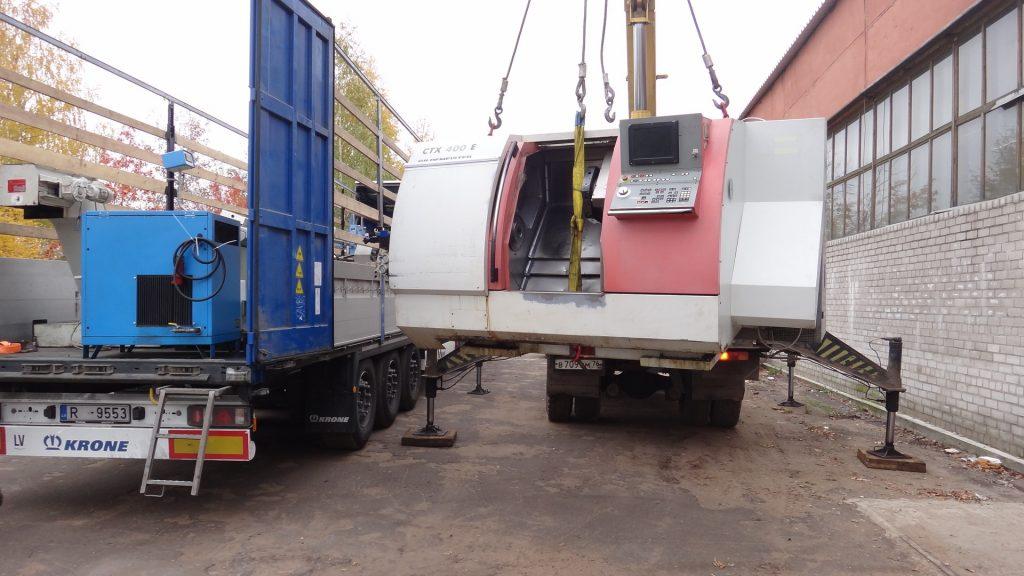 Доставка станков и оборудования из Европы