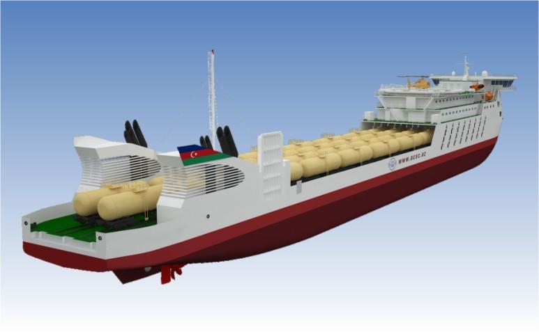 Морские грузоперевозки на Каспие: Азербайджан начинает строительство паромов по украинским чертежам