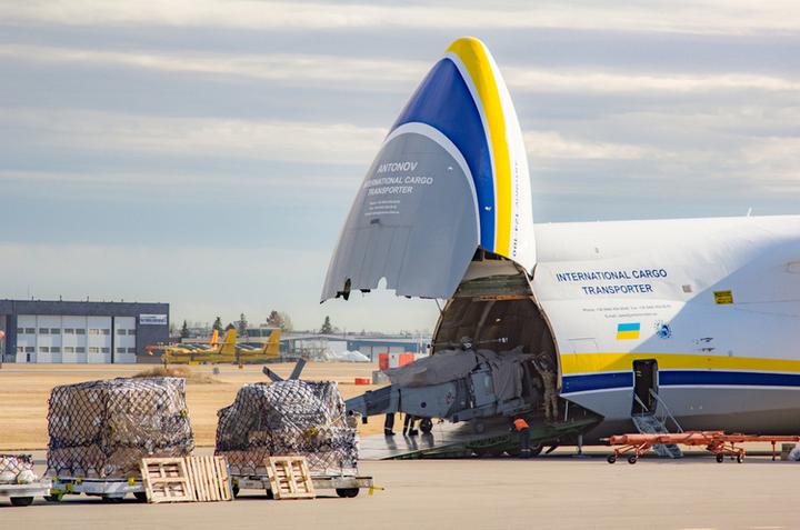 «Антонов» готовий повністю забезпечити вантажні авіаперевезення в інтересах SALIS