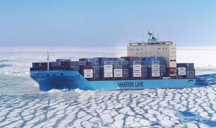 Maersk виконає пробні контейнерні перевезення по Північному морському шляху