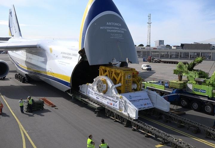 Использование АН-124 Руслан открывает новые возможности авиаперевозки грузов для нефтяников