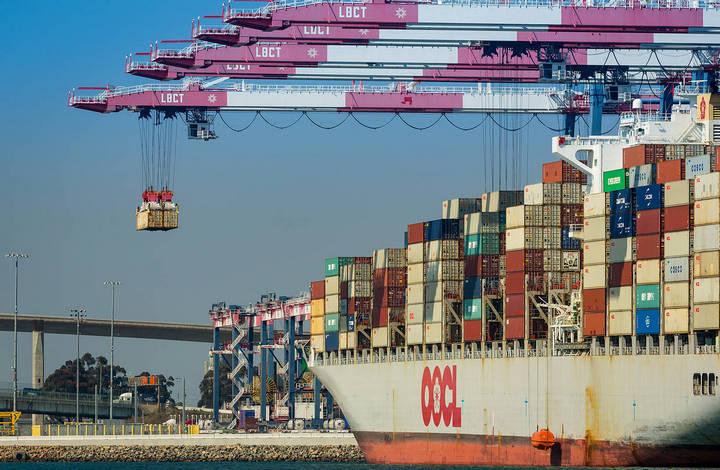 Контейнерные перевозки в США из Китая обновили рекорд