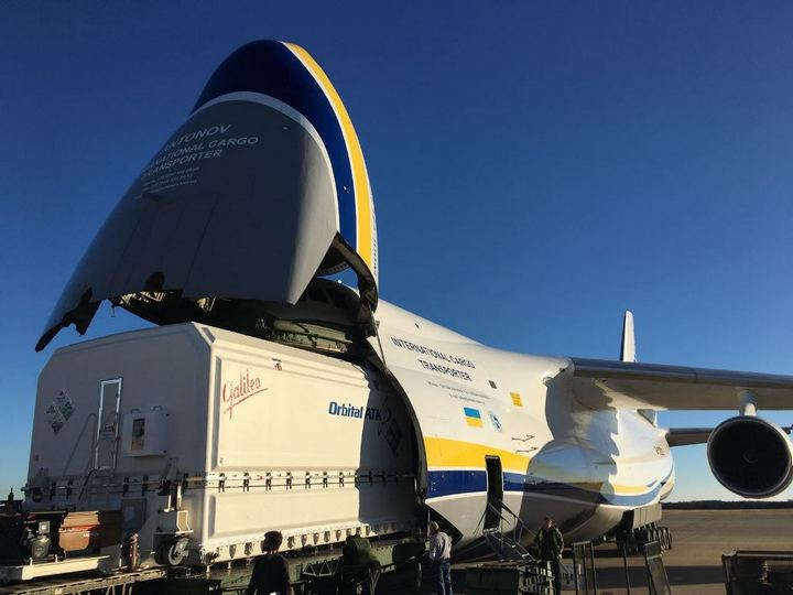 «Авиалинии Антонова» наращивают объемы авиаперевозки грузов для космической отрасли