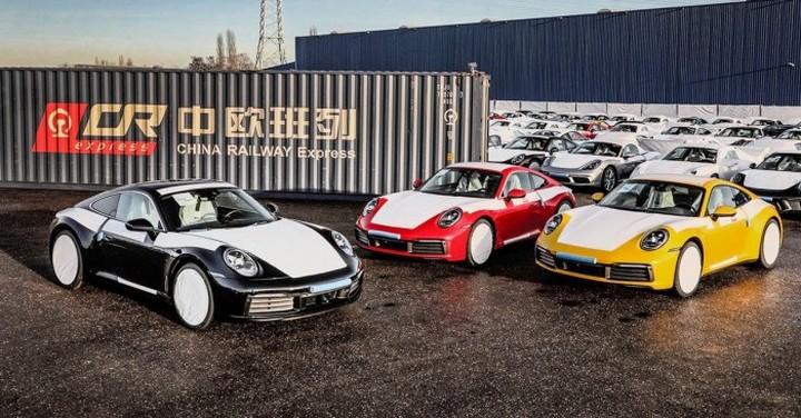 Porsche переносит автомобильные контейнерные перевозки на железную дорогу