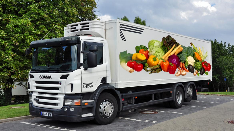 Перевозка ягод, фруктов и овощей из Украины за границу