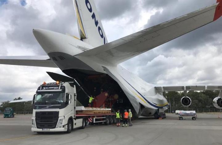 «Русланом» була проведена доставка великогабаритних вантажів в Південну Корею з Польщі