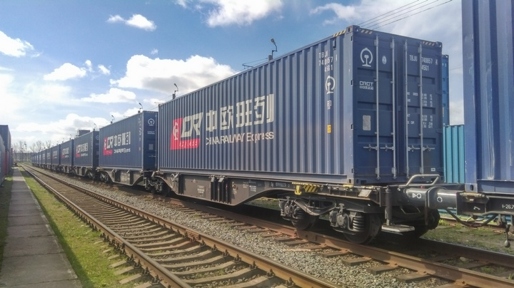 Залізничні контейнерні перевезення Китай - Європа виросли на чверть