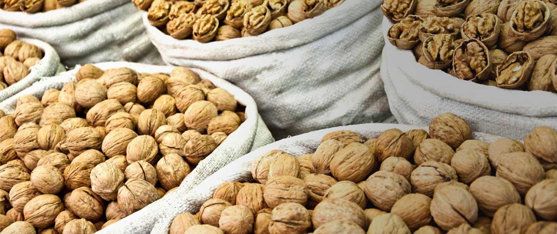 Перевозка орехов за границу - экспорт грецких орехов из Украины